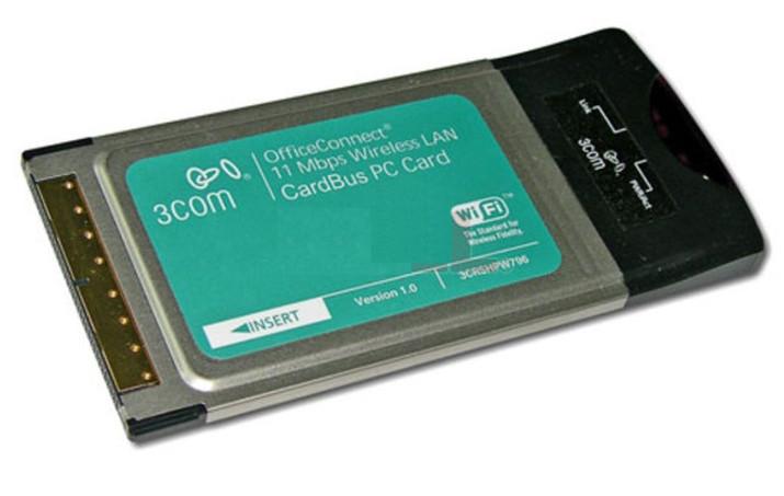 3Com 11Mbps Wireless PC Card (3CRSHPW796) Driver v.1.80.0716.2003 Windows XP 32 bits