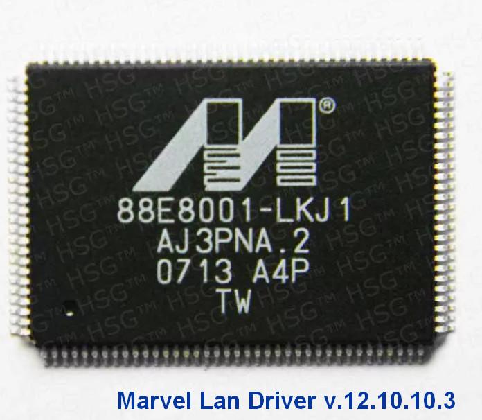 Marvell Yukon Ethernet Controller Drivers v.12.10.10.3 Windows 8 32-64 bits