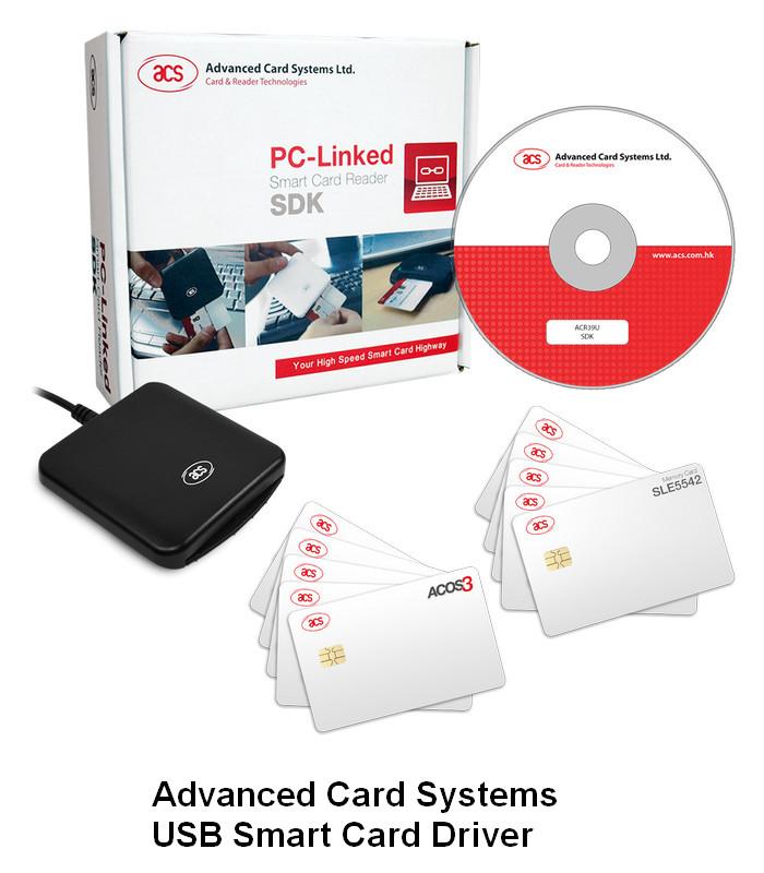 ACS USB Smart Card Reader Drivers v.4.3.1.0 Windows XP / Vista 7 / 8 / 10 32-64 bits