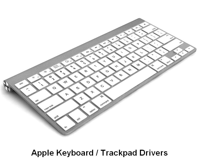 Apple Keyboard / Trackpad Drivers v.5.1.6160.0 Windows 7 / 8 / 8.1 64 bits