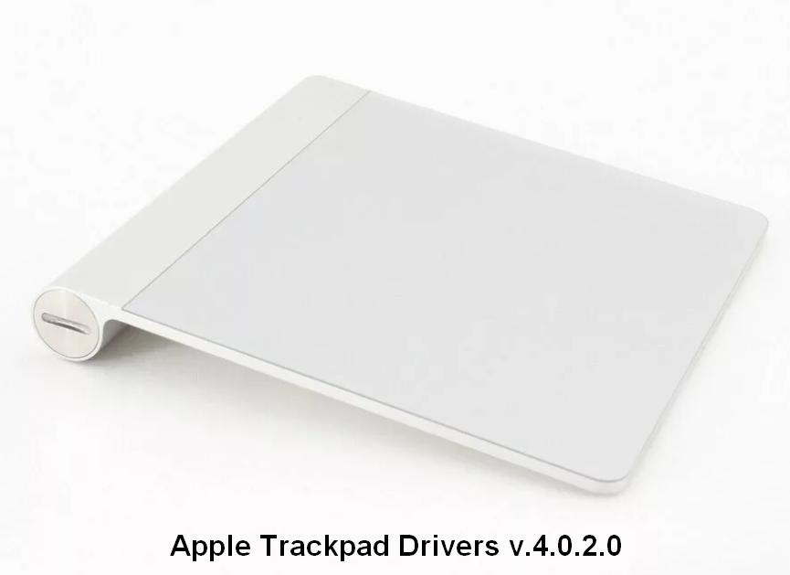 Apple Trackpad Drivers v.4.0.2.0 Windows XP / 7 32 bits