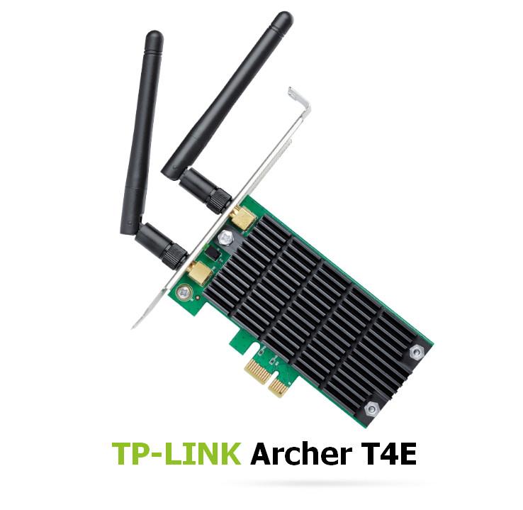 TP-LINK Archer T4E AC1200 PCI Wireless Adapter Driver Windows XP / Vista / 7 / 8 / 8.1 / 10 32-64 bits