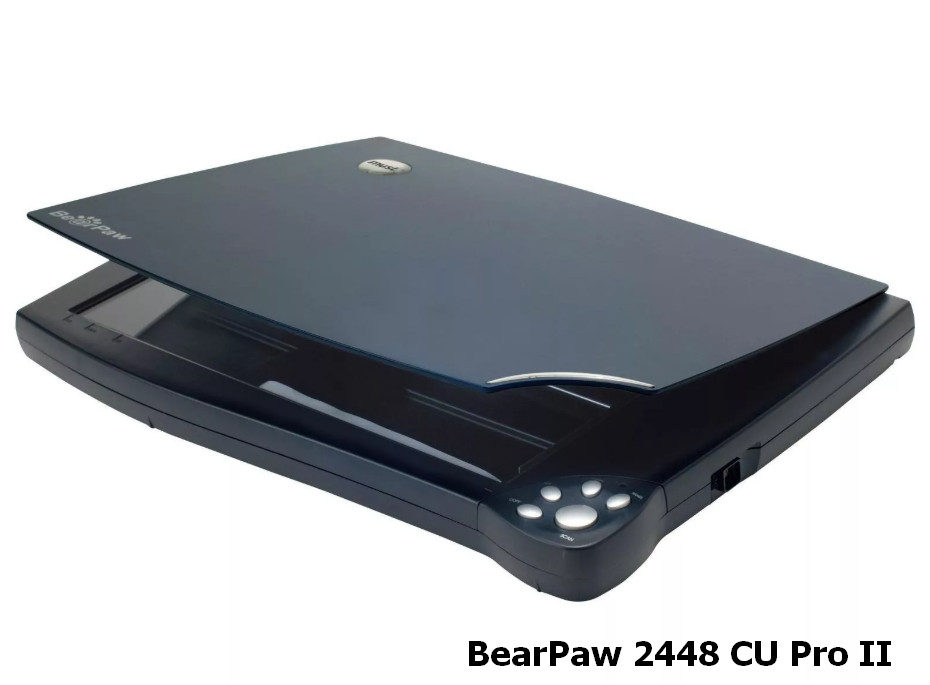 Mustek BearPaw 2448CU Pro / Pro II Scanner Driver V2.0 Windows XP / Vista / 7 / 8 / 8.1 / 10 32-64 bits
