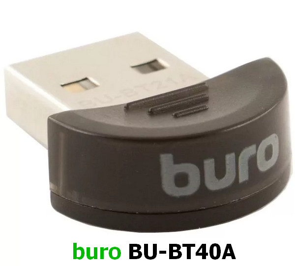 Buro BU-BT40A USB Bluetooth Adapter Driver Windows XP / Vista / 7 / 8 / 8.1 / 10 32-64 bits