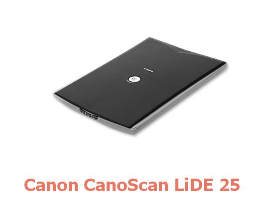 Canon CanoScan LiDE 25 Scanner Drivers v.11.012 Windows XP / Vista / 7 32-64 bits