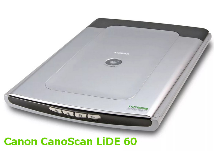Canon CanoScan LiDE 60 Scan Driver v.11.111a Windows XP / Vista / 7 32-64 bits