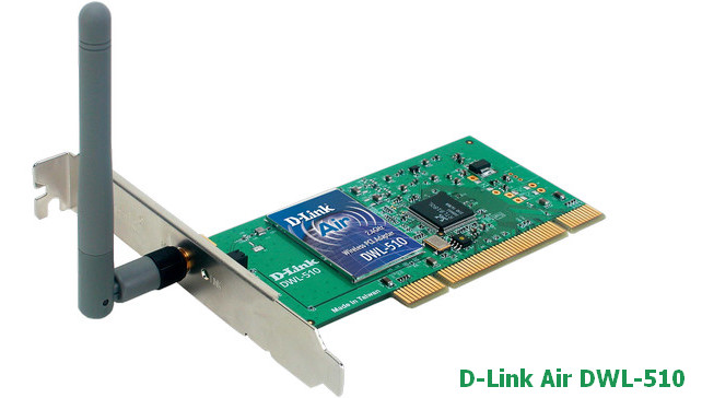 D-Link Air DWL-510 PCI Wireless Adapter Driver v.5.140.0523.2003 Windows XP 32 bits