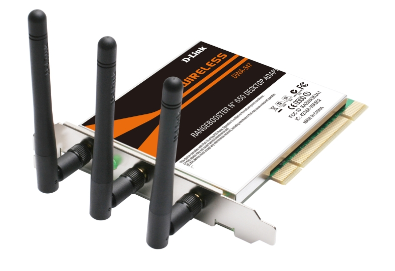D-Link DWA-547 A1-A2 PCI Wireless Adapter Driver