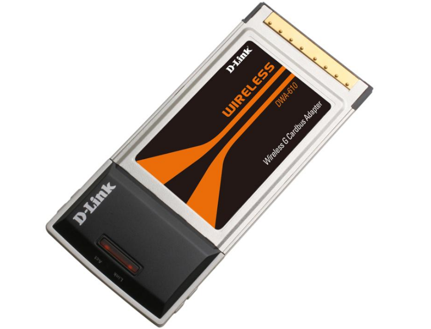 D-Link DWA-610 A1 CardBus Wireless Adapter Driver