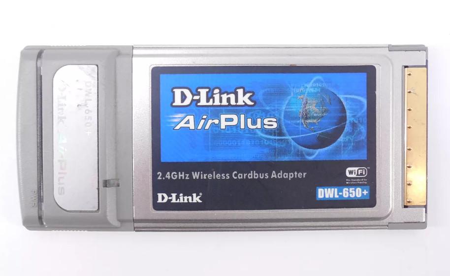 D-Link DWL-650+ Driver v.3.07 Windows XP / Vista / 7 32-64 bits