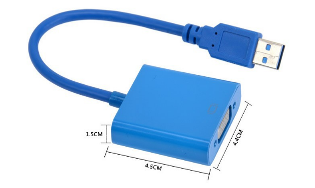 USB 3.0 to VGA Converter Adapter (FL2000) External Video Graphic Driver v.2.0.31231.0 Windows 7 / 8 / 8.1 / 10 32-64 bits