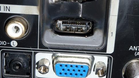 Сгоревший порт HDMI
