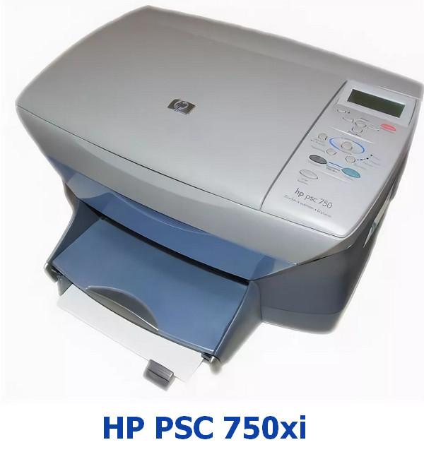 HP PSC 750xi Drivers v.6.2.8306.0 Windows XP / Vista / 7 32-64 bits