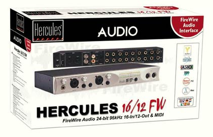 Hercules 16/12 FW Sound Card Driver