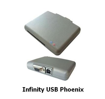 WB Electronics Infinity USB Phoenix Driver v.1.5.0.0 & Soft v.1.6 Windows XP / Vista / 7 / 8 / 8.1 / 10 32-64 bits