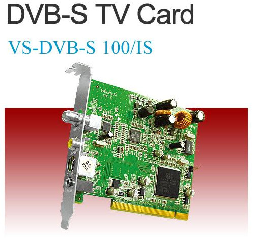 KWorld DVB-S 100 TV Card BDA Driver