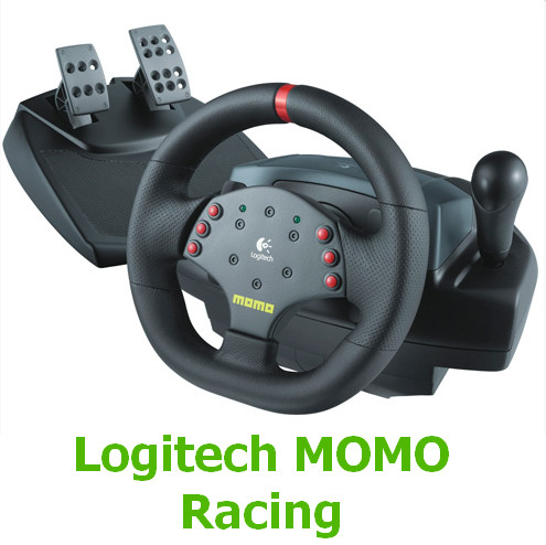 Logitech MOMO Racing Driver v.5.10.127 Windows XP / Vista / 7 / 8 / 8.1 / 10 32-64 bits