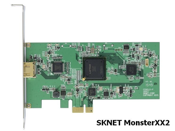Sknet MonsterXX2 Capture Device Drivers v.3.0.16008.0 Windows 7 / 8 / 10 32-64 bits