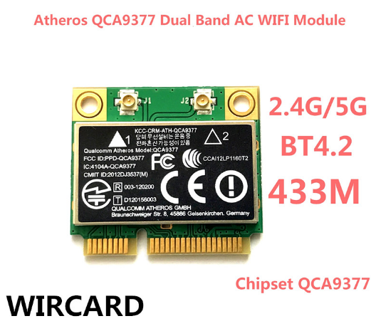 Qualcomm Atheros Wireless Driver (QCA9377/QCA61x4A/QCA6174A) v.12.0