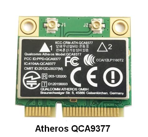 Atheros QCA9377 Wireless Network Adapter Driver v.12.0.0.832 Windows 7 / 10 32-64 bits