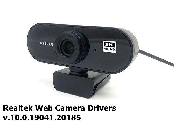 Realtek Web Camera Drivers v.10.0.19041.20185 Windows 10 32-64 bits