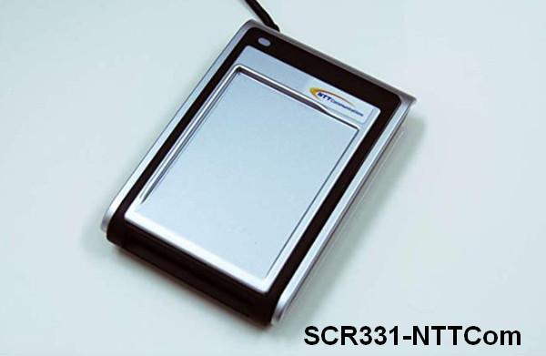NTT SCR3XX USB Smart Card Reader Drivers v.4.60.00.00 Windows XP / Vista / 7 / 8 / 8.1 / 10 32-64 bits