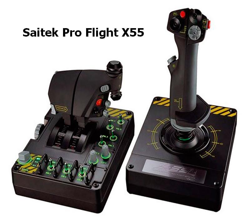 Saitek Pro Flight X55 RHINO Driver v.7.0.55.13 Windows 7 / 8 / 10 32-64 bits