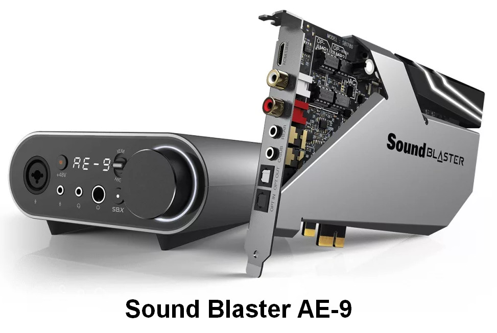 Creative Sound Blaster AE Series Drivers v.6.0.105.0055 Windows 7 / 8 / 8.1 / 10 32-64 bits