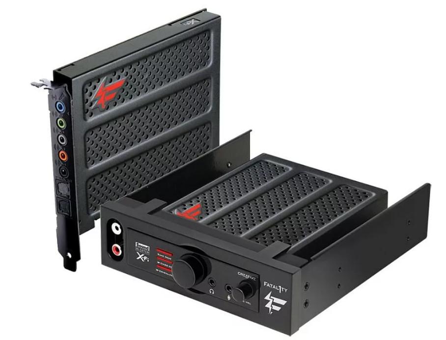 Creative Sound Blaster X-Fi Titanium Series Driver v.2.40.0019 Windows 10 32/64 bits