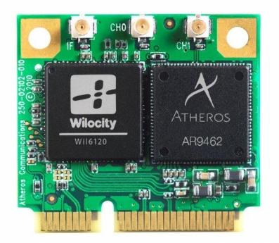 Qualcomm Atheros Sparrow 11ad Wireless Driver (QCA6526/QCA6320/QCA6335) v.2.0.0021 Windows 7 / 10 64 bits