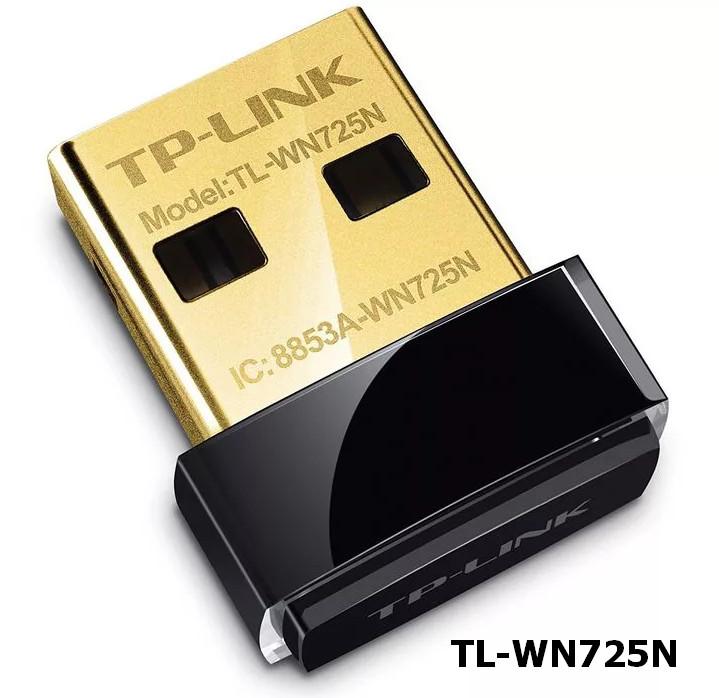 TP-LINK TL-WN725N N150 USB Wireless Adapter Driver Windows XP / Vista / 7 / 8 / 8.1 / 10 32-64 bits