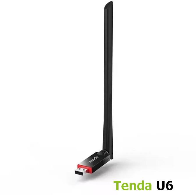 Tenda U6 N300 USB Wireless Adapter Driver Windows XP / Vista / 7 / 8 / 8.1 / 10 32-64 bits