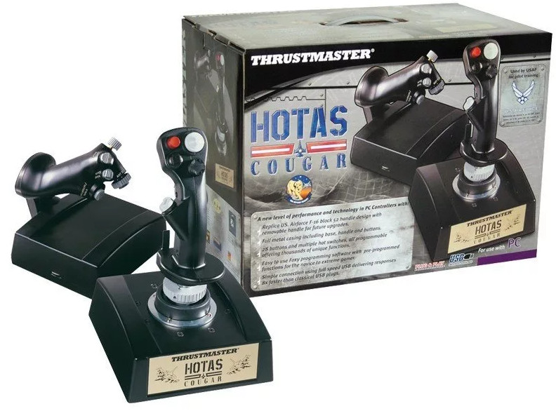 Thrustmaster HOTAS Cougar Driver v.2.0.3.0 Windows XP / Vista / 7 32-64 bits