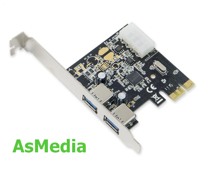 AsMedia USB 3.0 Controller Driver v.1.16.59.1 Windows 7 / 8 / 8.1 / 10 32-64 bits