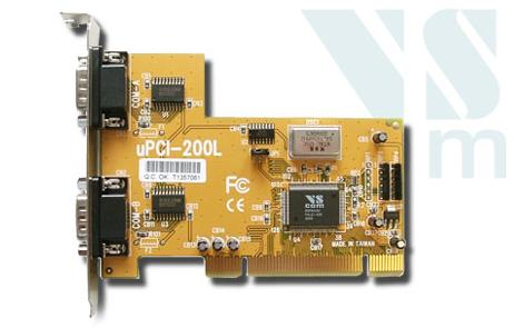 VScom PCI200L Controller Driver v.3.03.05.000/3.03.00.015 Windows XP / Vista / 7 / 8.1 32-64 bits