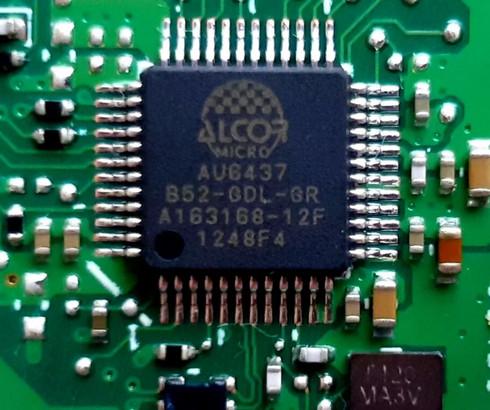 Alcor Micro USB Smart Card Reader Drivers for Lenovo v.1.9.6.1300 Windows 10 64 bits