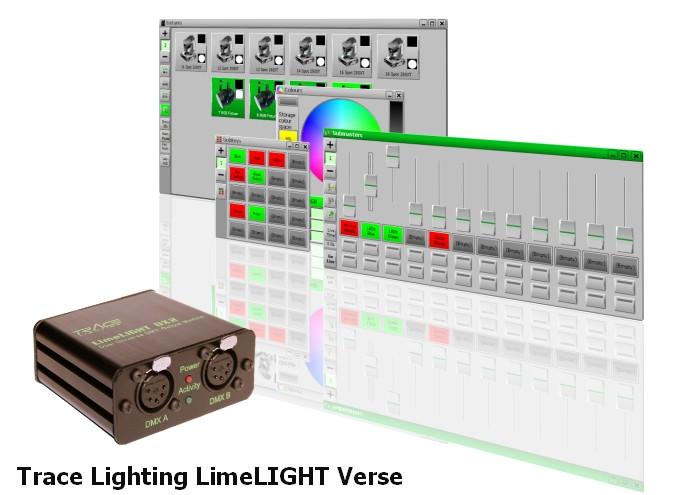Trace Lighting LimeLIGHT v.1.2.4864 & USB Drivers v.1.0.0.6 Windows XP / 7 32-64 bits