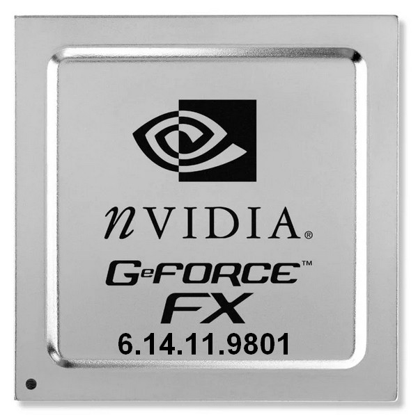 NVIDIA GeForce Display Driver v.6.14.11.9801 Windows XP 32 bits
