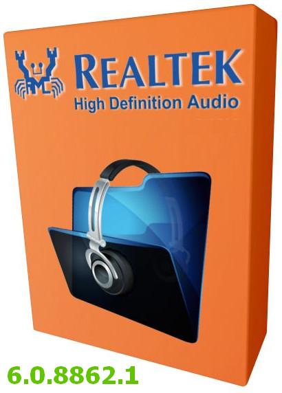 Realtek High Definition Audio Drivers v.6.0.8862.1 Windows XP / Vista / 7 / 8 / 8.1 / 10 32-64 bits