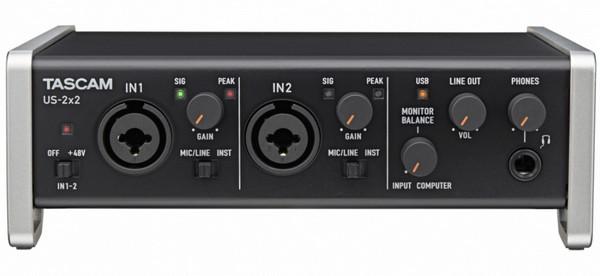 Tascam US-2x2 USB Audio Driver v.2.13 Windows XP / Vista / 7 / 8 / 8.1 / 10 32-64 bits