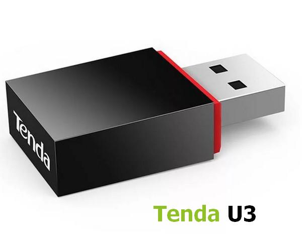Tenda U3 N300 USB Wireless Adapter Driver Windows XP / Vista / 7 / 8 / 8.1 / 10 32-64 bits