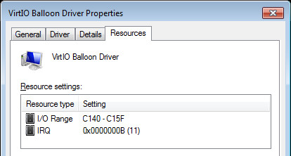Virtio Memory Balloon Driver v.61.70.104.8100 Windows XP / Vista / 7 / 8 / 8.1 / 10 32-64 bits