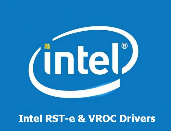 Intel RST-e & VROC Drivers v.7.5.0.1991 Windows 7 / 8.1 / 10 64 bits