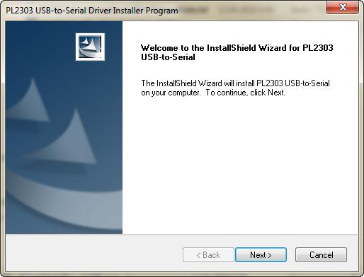 prolific usb-to-serial comm port com3