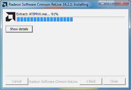 AMD Radeon Software Crimson Edition Beta Driver v 16 2 1 v 15 301