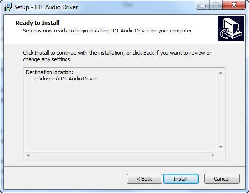 Video's van Idt high definition Windows 10 driver