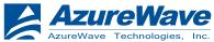 AzureWave USB2.0 UVC VGA WebCam Drivers