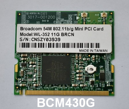 Broadcom BCM-43xx Wireless 802.11ac PCI-E Drivers