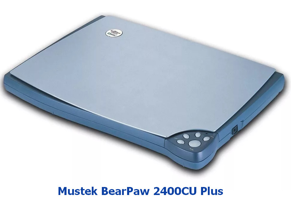 Mustek BearPaw 2400CU Plus Scanner Driver