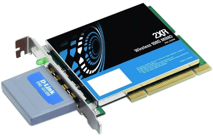 DWL-G520M Wireless 108G MIMO PCI Adapter Driver